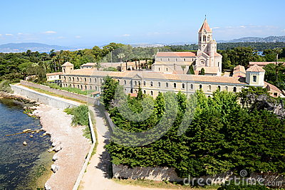 The Lerins Abbey Monastery