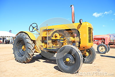 USA: Antique Tractor - 1958 Leroi Editorial Photo