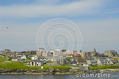 Lerwick in the Shetland Islands