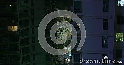 Les bâtiments se ferment vers le haut de la Chine, Shenzhen banque de vidéos