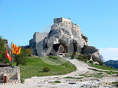 Les Baux-de-Provence, castle