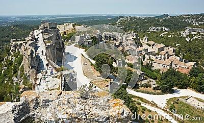 Les Baux de Provence, French Medieval site