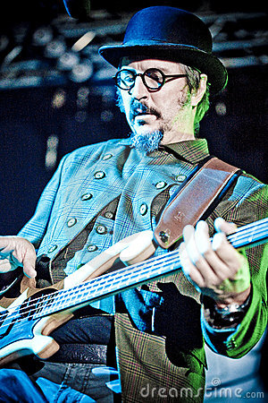 Les Claypool - Primus Editorial Stock Photo