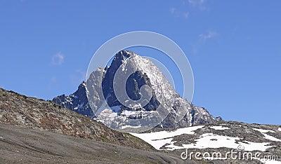 Les Deux Alpes mountain peak