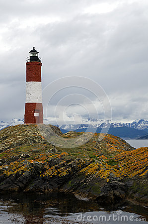 Les Eclaireurs Lighthouse, Ushuaia, Patagonia, Argentina