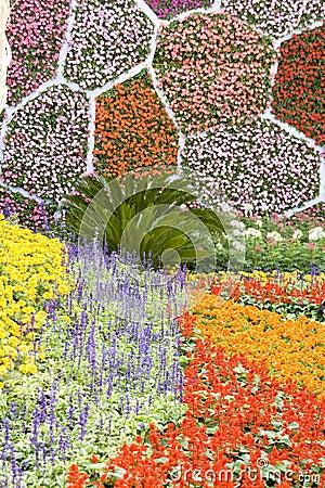 Les fleurs décorent