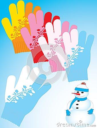 Les gants réchauffent