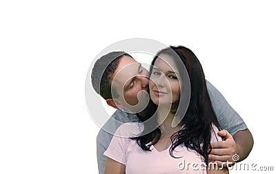 Les gens - baiser doux