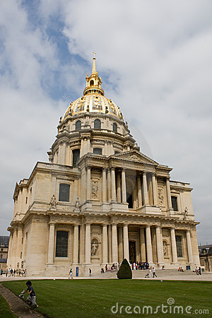 Les Invalides Editorial Photography