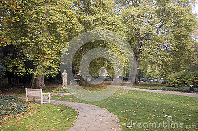 Les Jardins De St George, Bloomsbury Photos stock - Image: 27774793