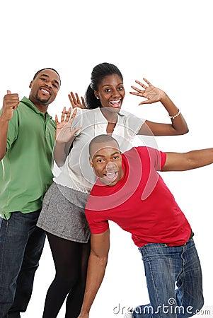 Les jeunes heureux
