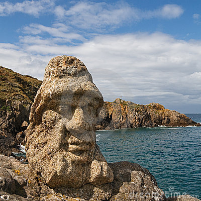 Free Les Rochers Sculptes (Sculptures) In Rotheneuf Stock Photography - 12703742