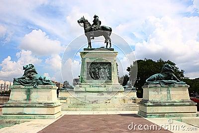 Les USA Grant Statue