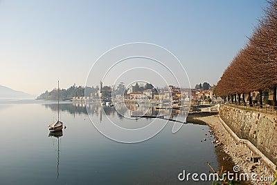 Lesa, Lake Maggiore, Italy