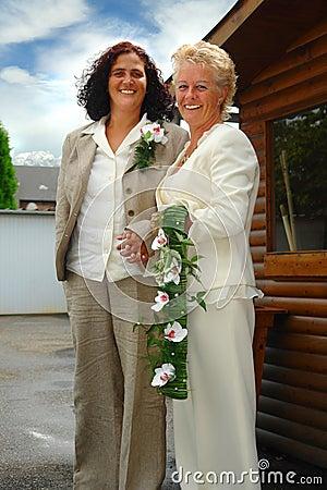 Free Lesbian Brides Stock Photos - 1102773