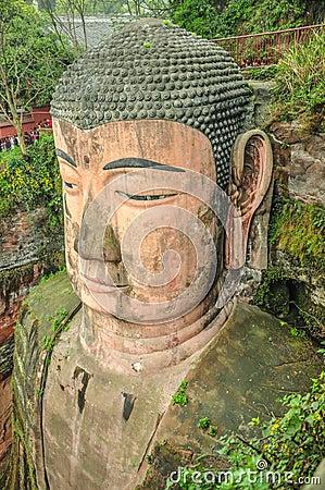 Leshan Giant Buddha, Sichuan.