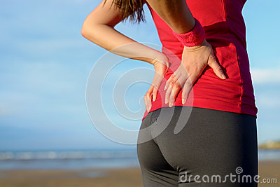 Lesione di dolore lombo-sacrale del corridore