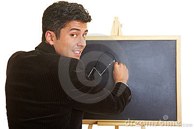 Lessons with a blackboard