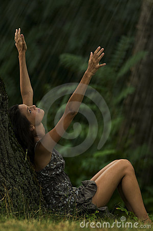 Free Let It Rain! Royalty Free Stock Images - 12413209