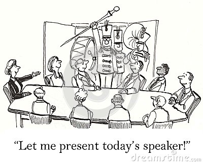 Let me present the speaker for our meeting