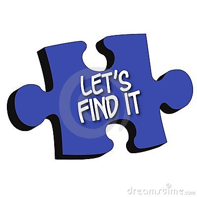 Let s Find It 3D Puzzle Piece