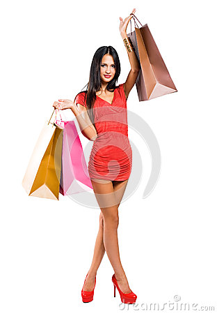 Free Let S Go Shopping! Royalty Free Stock Photography - 27357877