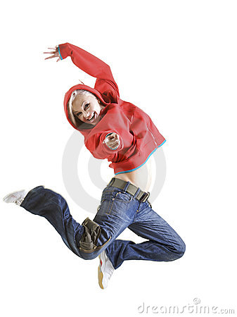 Free Let S Jump Royalty Free Stock Image - 5248626