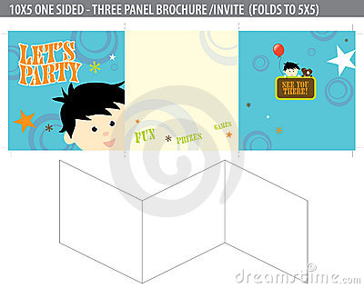 Let s Party Invite/brochure