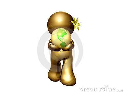 Let s save the world icon