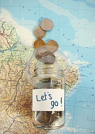 Free Let S Travel - Vacation Budget Stock Images - 54562974
