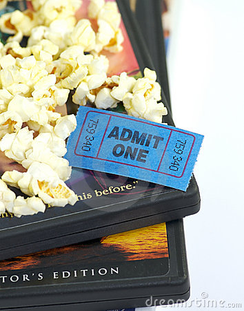 Free Let S Watch A Movie Royalty Free Stock Photos - 1680538
