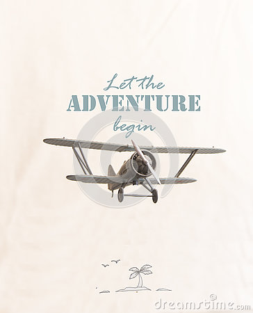 Free Let The Adventure Begin - Travel Motivational Concept Royalty Free Stock Photo - 74538315