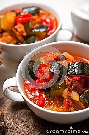Letcho food still life