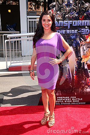 Leti Coo at the World Premiere Of Universal Studios Hollywood s Editorial Stock Photo