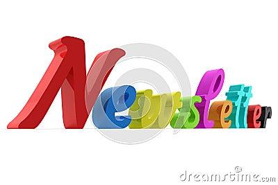 Letra do boletim de notícias