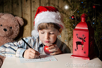 Letra a Santa