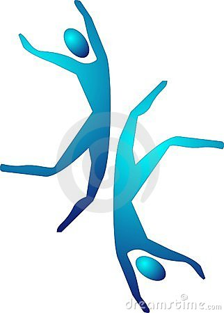 Lets Dance...Pictograms of people enjoying life...