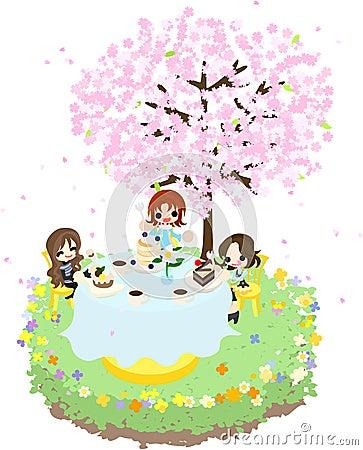 Cafe of the Cherry Blossom-3