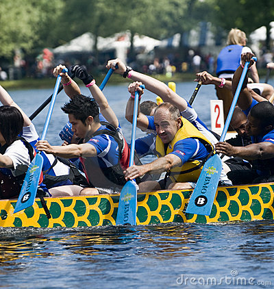 Lets Sink Together DBC Dragon Boat racing Editorial Photography