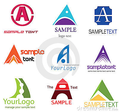Free Letter A Logo Royalty Free Stock Photo - 22214515