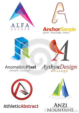 Free Letter A Logo Stock Photos - 32434503