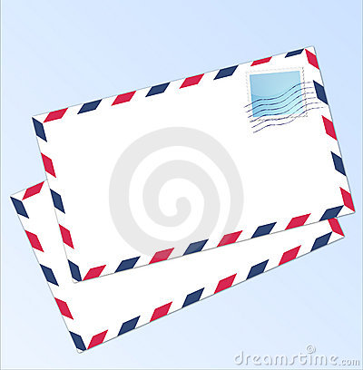 Letter Airmail Stock Photo - Image: 13231570