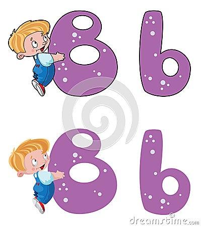 Letter B baby