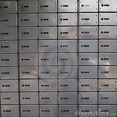 Free Letter-boxes Royalty Free Stock Image - 3491366