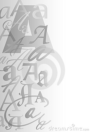 A Letter Collage Background/eps