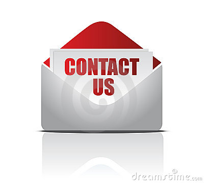 Letter with Contact us card