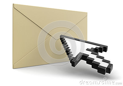 Letter and Cursor (clipping path included)