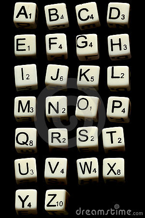 Letter dice game