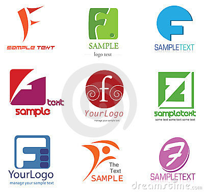 Free Letter F Logo Royalty Free Stock Photos - 22214538