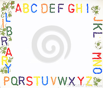 Letter Frame Royalty Free Stock Photos - Image: 34523048